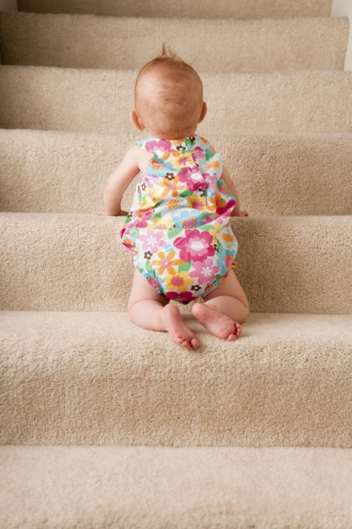 When starting exercising even baby steps are good